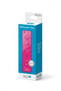 Wii U Remote Plus Pink