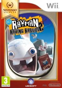Wii Rayman Raving Rabbids 2 Nintendo Selects