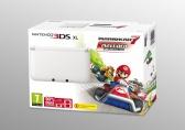 Nintendo 3DS XL White + Mario Kart