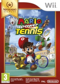 Wii Mario Power Tennis Nintendo Select
