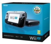 Wii U Premium Pack Black + Nintendo Land