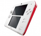 Nintendo 2DS White & Red