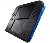 Nintendo 2DS Black & Blue + New Super Mario Bros 2