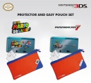 3DS Protector and Pouch Set (Super Mario 3D Land)