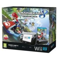 Wii U Premium Pack Black + Mario Kart 8