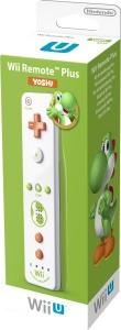 Wii U Remote Plus Yoshi Edition