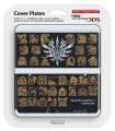 New 3DS Cover Plate - Monster Hunter 4 (Black)