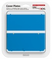 New 3DS Cover Plate 20 (Plain Blue)