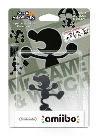 amiibo Smash Mr. GameWatch 45