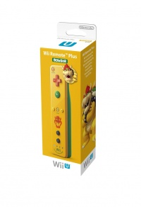 Wii U Remote Plus Bowser