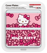 New 3DS Cover Plate - Hello Kitty