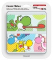 New 3DS Cover Plate 28 (multicolor Yoshi's)