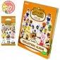 3DS Animal Cr.Collector's album+1set of card Vol.2