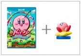 WiiU Kirby and Rainbow Paintbrush + amiibo Kirby