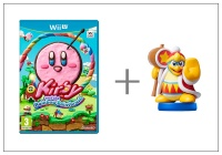 WiiU Kirby and Rainbow Paintbrush + King Dedede