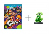 WiiU Splatoon + amiibo Splatoon Squid