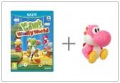 WiiU Yoshi's Woolly World + amiibo Yarn Yoshi Pink