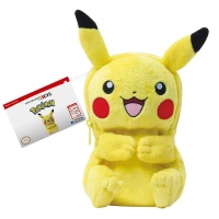 New 3DS XL Plush Pouch - Pikachu (Full Body Model)