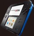 Nintendo 2DS Black & Blue + Mario Kart 7