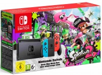 Nintendo Switch console neon + Splatoon 2 (downl)
