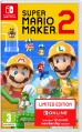 SWITCH Super Mario Maker 2 + NSO Limited Ed.