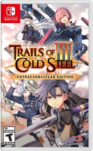 SWITCH The Legend of Heroes:Trails of Cold St. III