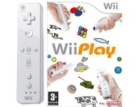 Wii Remote controller White + Wii Play