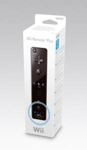 Wii Remote Plus Black