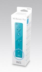 Wii Remote Plus Blue