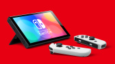 Nintendo Switch (OLED model) white set