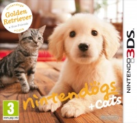 3DS Nintendogs+Cats - Golden Retriever&new Friends