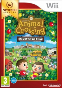 Wii Animal Crossing: Lets go to the City Select
