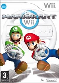 Wii Mario Kart Wii + Wheel