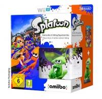 WiiU Splatoon + Amiibo Squid