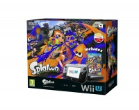 Wii U Premium Pack Black + Splatoon