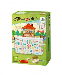 New Nintendo 3DS XL Animal Crossing HHD + Card