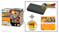 New Nintendo 3DS Black+Dragonball Z+SNES+Faceplate