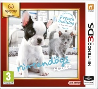 3DS Nintendogs+Cats-French Bull&new Friends Select