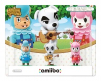 amiibo Animal Crossing 3-Pack: Reese/K.K./Cyrus