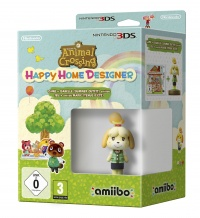 3DS Animal Crossing HHD + Isabelle (Summer) amiibo