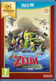 WiiU The Legend of Zelda:The Wind Waker HD Selects