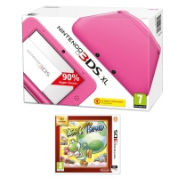 Nintendo 3DS XL Pink + Yoshi's New Island Select