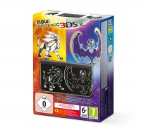 New Nintendo 3DS XL Solgaleo and Lunala Limited ed