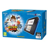 Nintendo 2DS Black & Blue + YO-KAI WATCH
