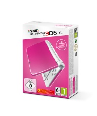 New Nintendo 3DS XL Pink + White