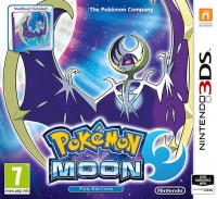 3DS Pokémon Moon Steelbook Edition