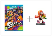 WiiU Splatoon + amiibo Splatoon Girl