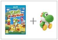 WiiU Yoshi's Woolly World + Yarn Yoshi Green