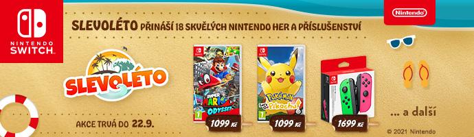 Nintendo Slevoléto 2021 wave 3