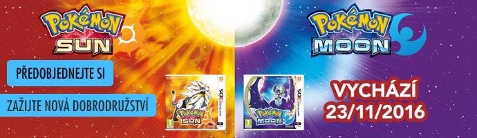 3DS Pokémon Sun_Moon - předobjednejte si